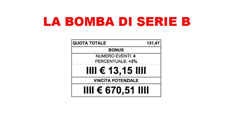 Pronostici serie b 11 ottobre la bomba da 130 volte la posta in gioco - Gioco da tavolo passa la bomba ...