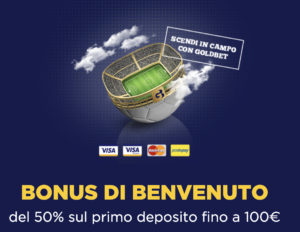Bonus 100€ Goldbet